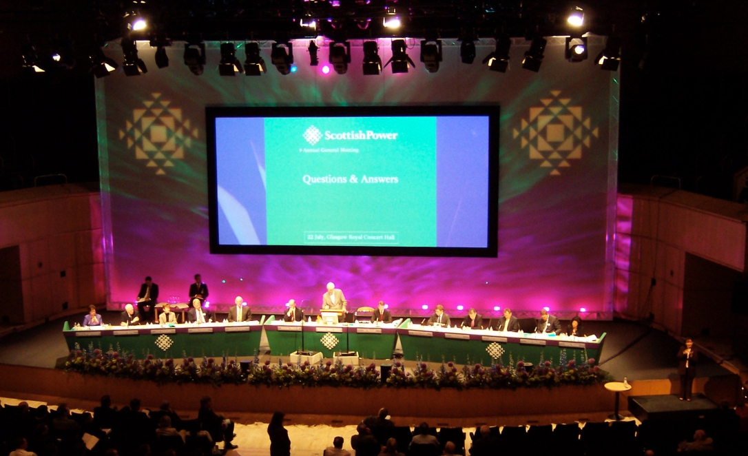 ScottishPower AGM